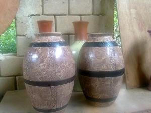 Ceramic making in Atamora Pottery Studio, Ibadan, Nigeria