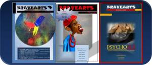 Bravearts Magazine Issues