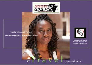 Sumbu Temo on the African Diaspora Hybrid Cultures (Interview) - Bravearts Africa Travel Issue Audio Podcast B