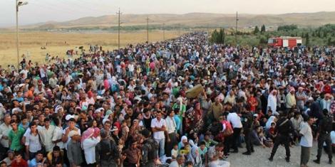 - Photo: Syrian Refugees, UNHCR photo. | Credits: WND.com